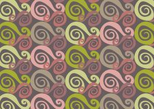 πράσινο ροζ whirly ελεύθερη απεικόνιση δικαιώματος