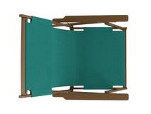 πράσινο σαλόνι μονίππων Στοκ εικόνα με δικαίωμα ελεύθερης χρήσης