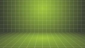 Πράσινο σκηνικό υπόβαθρο πλέγματος απεικόνιση αποθεμάτων