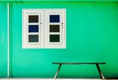 Πράσινο σπίτι Στοκ εικόνες με δικαίωμα ελεύθερης χρήσης