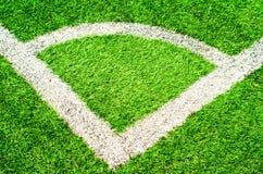πράσινο στάδιο χλόης Στοκ φωτογραφία με δικαίωμα ελεύθερης χρήσης