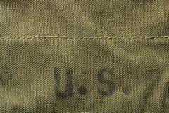 Πράσινο στρατιωτικό υπόβαθρο grunge στοκ εικόνα