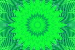 Πράσινο σχέδιο άνοιξη λουλουδιών floral graphics απεικόνιση αποθεμάτων