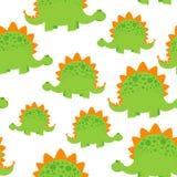 πράσινο σχέδιο δεινοσαύρων Στοκ φωτογραφία με δικαίωμα ελεύθερης χρήσης