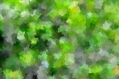 Πράσινο σχέδιο κυβισμού απεικόνιση αποθεμάτων
