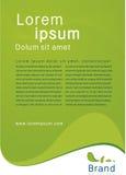 Πράσινο σχεδιάγραμμα φύσης Στοκ φωτογραφία με δικαίωμα ελεύθερης χρήσης