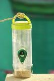 Πράσινο σχοινί αγαθών υποβάθρου μπουκαλιών Στοκ φωτογραφίες με δικαίωμα ελεύθερης χρήσης