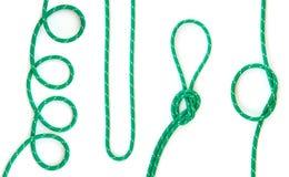 πράσινο σχοινί Στοκ Εικόνες