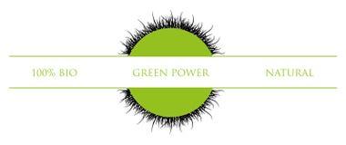 πράσινο σύμβολο Στοκ Εικόνες