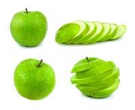 πράσινο σύνολο μήλων Στοκ Εικόνα