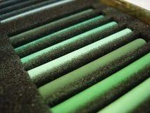 πράσινο σύνολο pastila Στοκ εικόνα με δικαίωμα ελεύθερης χρήσης