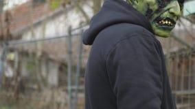 πράσινο τέρας Στοκ φωτογραφίες με δικαίωμα ελεύθερης χρήσης