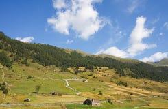 πράσινο τοπίο της Ανδόρρας στοκ φωτογραφία με δικαίωμα ελεύθερης χρήσης