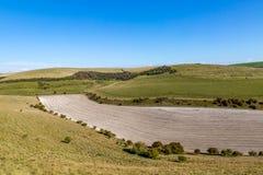 Πράσινο τοπίο του Σάσσεξ στοκ εικόνες με δικαίωμα ελεύθερης χρήσης