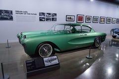 Πράσινο το 1955 Chevrolet Biscayne xp-37 Στοκ φωτογραφίες με δικαίωμα ελεύθερης χρήσης