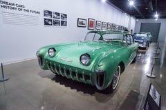 Πράσινο το 1955 Chevrolet Biscayne xp-37 Στοκ Εικόνα