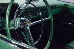 Πράσινο το 1955 Chevrolet Biscayne xp-37 Στοκ φωτογραφία με δικαίωμα ελεύθερης χρήσης