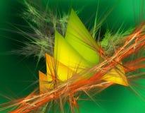 Πράσινο τρίγωνο απεικόνιση αποθεμάτων
