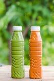 Πράσινο τσάι και ταϊλανδικό τσάι Στοκ εικόνα με δικαίωμα ελεύθερης χρήσης