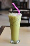 Πράσινο τσάι πάγου Στοκ φωτογραφία με δικαίωμα ελεύθερης χρήσης