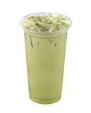 πράσινο τσάι πάγου Στοκ εικόνα με δικαίωμα ελεύθερης χρήσης