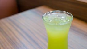 πράσινο τσάι πάγου Στοκ φωτογραφίες με δικαίωμα ελεύθερης χρήσης