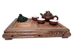 πράσινο τσάι τελετής Στοκ Φωτογραφία