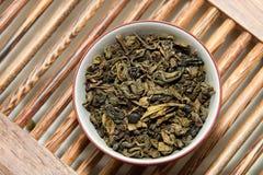 πράσινο τσάι τελετής Στοκ φωτογραφία με δικαίωμα ελεύθερης χρήσης