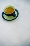 πράσινο τσάι φλυτζανιών Στοκ Εικόνες