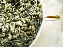 πράσινο τσάι στοκ φωτογραφία