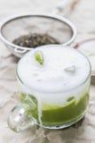 πράσινο τσάι matcha στοκ φωτογραφία