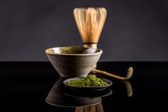 πράσινο τσάι matcha στοκ εικόνες με δικαίωμα ελεύθερης χρήσης