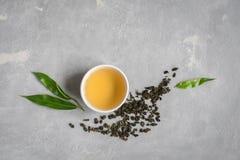 πράσινο τσάι oolong Στοκ φωτογραφία με δικαίωμα ελεύθερης χρήσης