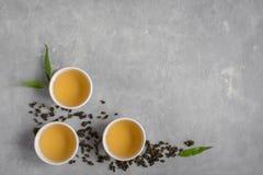 πράσινο τσάι oolong Στοκ Εικόνα