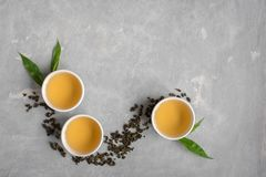 πράσινο τσάι oolong Στοκ εικόνα με δικαίωμα ελεύθερης χρήσης