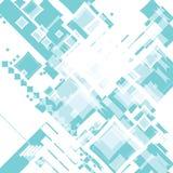 πράσινο τυχαίο τετράγωνο ροής άμπωτης Στοκ Εικόνες
