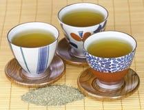 πράσινο υγιές τσάι στοκ εικόνα