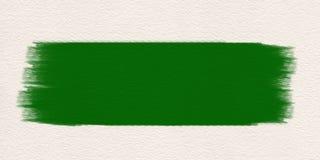 Πράσινο υδατόχρωμα βουρτσών χρωμάτων κτυπήματος Κτύπημα βουρτσών πράσινο στοκ εικόνες