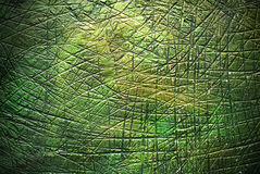Πράσινο υπόβαθρο επιφάνειας μετάλλων Στοκ Φωτογραφίες