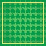 Πράσινο υπόβαθρο ημέρας StPatrick ` s, στις 17 Μαρτίου τυχερό διάνυσμα ημέρας Στοκ φωτογραφία με δικαίωμα ελεύθερης χρήσης
