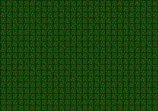 Πράσινο υπόβαθρο κιβωτίων εικονοκυττάρου διανυσματικό Στοκ εικόνα με δικαίωμα ελεύθερης χρήσης