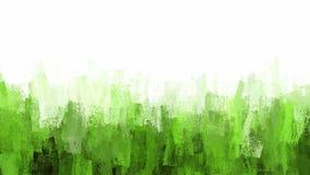 Πράσινο υπόβαθρο κτυπημάτων βουρτσών κιμωλίας Στοκ Φωτογραφίες