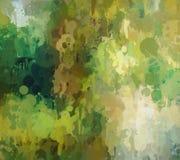 Πράσινο υπόβαθρο κτυπημάτων βουρτσών Στοκ φωτογραφία με δικαίωμα ελεύθερης χρήσης