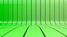 Πράσινο υπόβαθρο κλίσης λωρίδων Στοκ Φωτογραφία