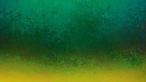 Πράσινο υπόβαθρο με το παλαιό σχέδιο συνόρων grunge χρυσό, μέρη της στενοχωρημένης σύστασης στοκ εικόνες