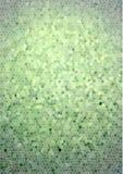 Πράσινο υπόβαθρο μωσαϊκών Στοκ φωτογραφία με δικαίωμα ελεύθερης χρήσης