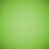 Πράσινο υπόβαθρο σημείων Πόλκα grunge απεικόνιση αποθεμάτων