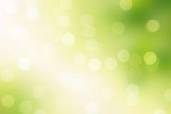 Πράσινο υπόβαθρο σπινθηρίσματος bokeh Στοκ φωτογραφίες με δικαίωμα ελεύθερης χρήσης