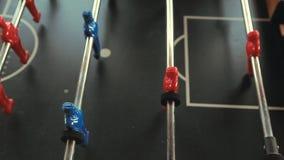 Πράσινο υπόβαθρο τομέων ποδοσφαιρικών παιχνιδιών απόθεμα βίντεο