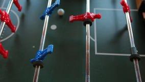 Πράσινο υπόβαθρο τομέων ποδοσφαιρικών παιχνιδιών φιλμ μικρού μήκους